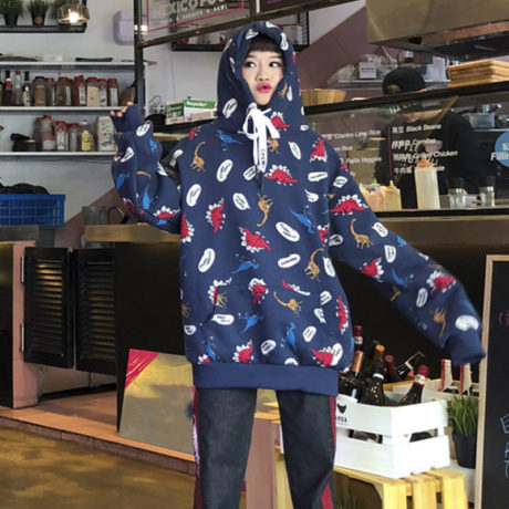 2019-Autumn-Streatwear-Korean-Hooded-Hoodies-Women-Dinosaur-Cartoon-Print-Korean-Student-Women-s-Sweatshirts-Casual-2.jpg