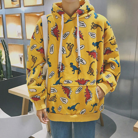 2019-Autumn-Streatwear-Korean-Hooded-Hoodies-Women-Dinosaur-Cartoon-Print-Korean-Student-Women-s-Sweatshirts-Casual-3.jpg