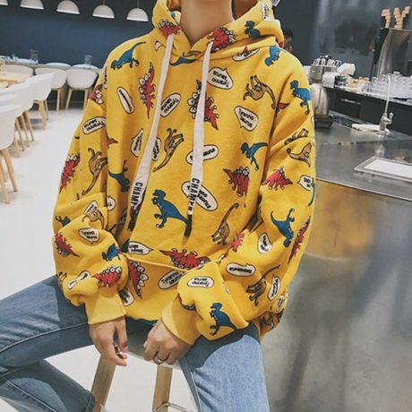 2019-Autumn-Streatwear-Korean-Hooded-Hoodies-Women-Dinosaur-Cartoon-Print-Korean-Student-Women-s-Sweatshirts-Casual-4.jpg
