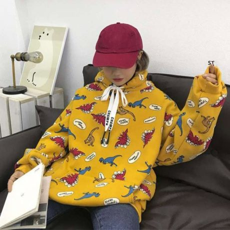 2019-Autumn-Streatwear-Korean-Hooded-Hoodies-Women-Dinosaur-Cartoon-Print-Korean-Student-Women-s-Sweatshirts-Casual-5.jpg