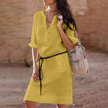 Belt-casual-dress-women-fashion-white-shirt-midi-dress-plus-size-solid-loose-pocket-half-sleeve-1.jpg