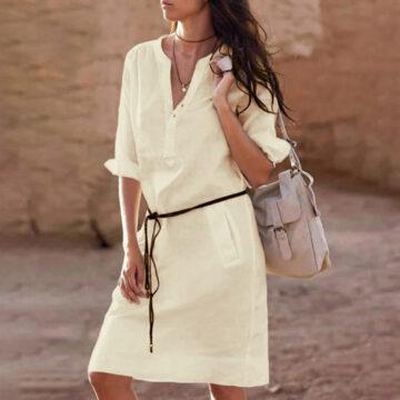Belt-casual-dress-women-fashion-white-shirt-midi-dress-plus-size-solid-loose-pocket-half-sleeve-2.jpg