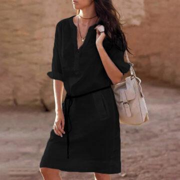 Belt-casual-dress-women-fashion-white-shirt-midi-dress-plus-size-solid-loose-pocket-half-sleeve-3.jpg