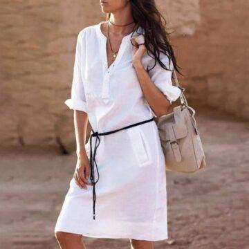 Belt-casual-dress-women-fashion-white-shirt-midi-dress-plus-size-solid-loose-pocket-half-sleeve-4.jpg