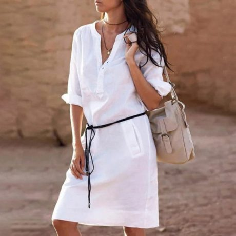 Belt-casual-dress-women-fashion-white-shirt-midi-dress-plus-size-solid-loose-pocket-half-sleeve-4.jpg