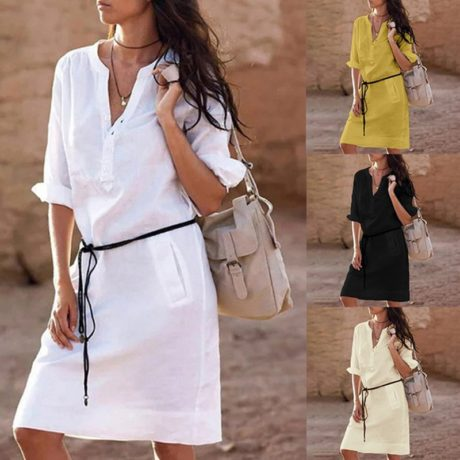 Belt-casual-dress-women-fashion-white-shirt-midi-dress-plus-size-solid-loose-pocket-half-sleeve.jpg