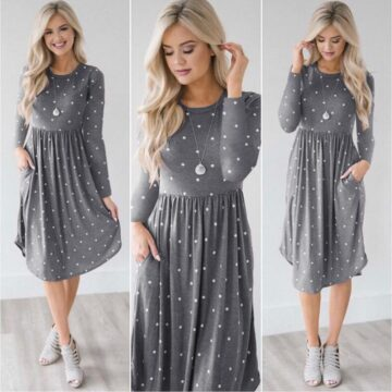 Pocket-Elegant-Knee-length-Dress-High-Quality-Autumn-2019-Casual-Women-Dress-Long-Sleeve-O-neck-2.jpg