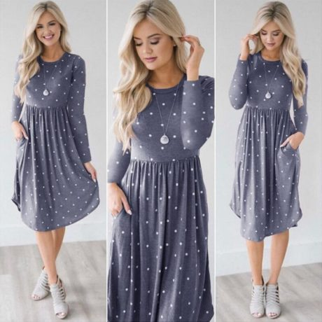 Pocket-Elegant-Knee-length-Dress-High-Quality-Autumn-2019-Casual-Women-Dress-Long-Sleeve-O-neck-4.jpg