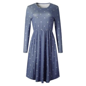 Pocket-Elegant-Knee-length-Dress-High-Quality-Autumn-2019-Casual-Women-Dress-Long-Sleeve-O-neck-5.jpg