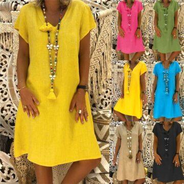 Women-Loose-Solid-Dresses-Casual-Ladies-Office-Shirt-Dresses-2019-Summer-Spring-Short-Sleeve-V-Neck-1.jpg