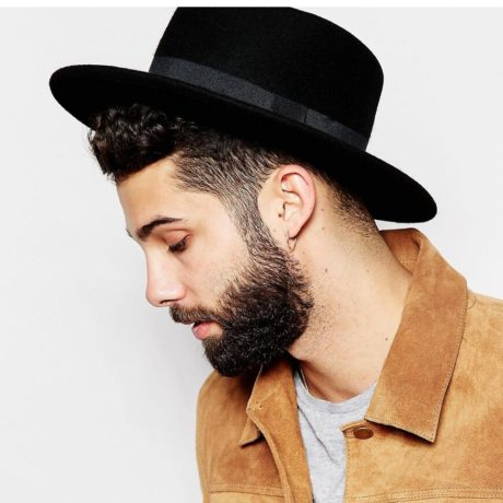 New-Fashion-Wool-Pork-Pie-Boater-Flat-Top-Hat-For-Women-s-Men-s-Felt-Wide-3.jpg