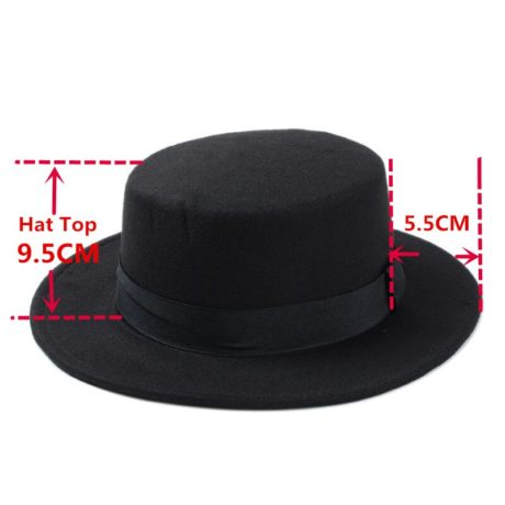 New-Fashion-Wool-Pork-Pie-Boater-Flat-Top-Hat-For-Women-s-Men-s-Felt-Wide-9.jpg